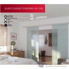 HAFELE синхронная раздвижная система для стекла Slido Classic Synchro 40-120L image