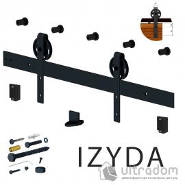 Valcomp IZYDA комплект раздвижной системы для дверей в стиле LOFT image