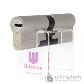 Цилиндр дверной Шерлок Hybrid Key кл-кл. 85 мм image