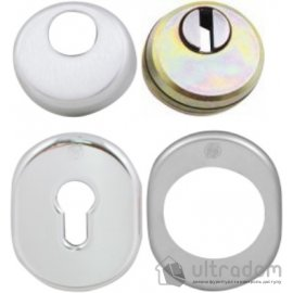 Securemme Комплект броненакладок для  цилиндра (овальная) image
