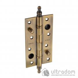 Дверная петля усиленная ЛАТУННАЯ SIBA 150 мм, античная бронза AB image