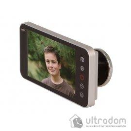 """AMIG Видеоглазок с функцией записи, дисплей 4,0"""" HD image"""
