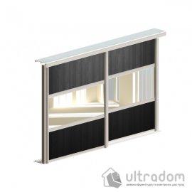 Комплект фурнитуры для шкафа-купе L1800*H2700 Valcomp ARES 3, 2 двери. image