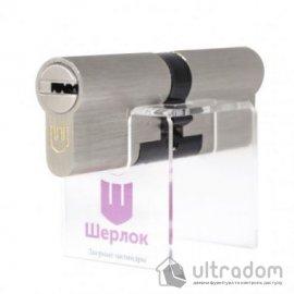 Цилиндр дверной Шерлок Hybrid Key кл-кл. 100 мм image