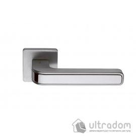 Дверная ручка COLOMBO Tecno MO 11  хром матовый image