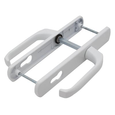 нажимная гарнитура для алюминиевых и ПВХ окон и дверей