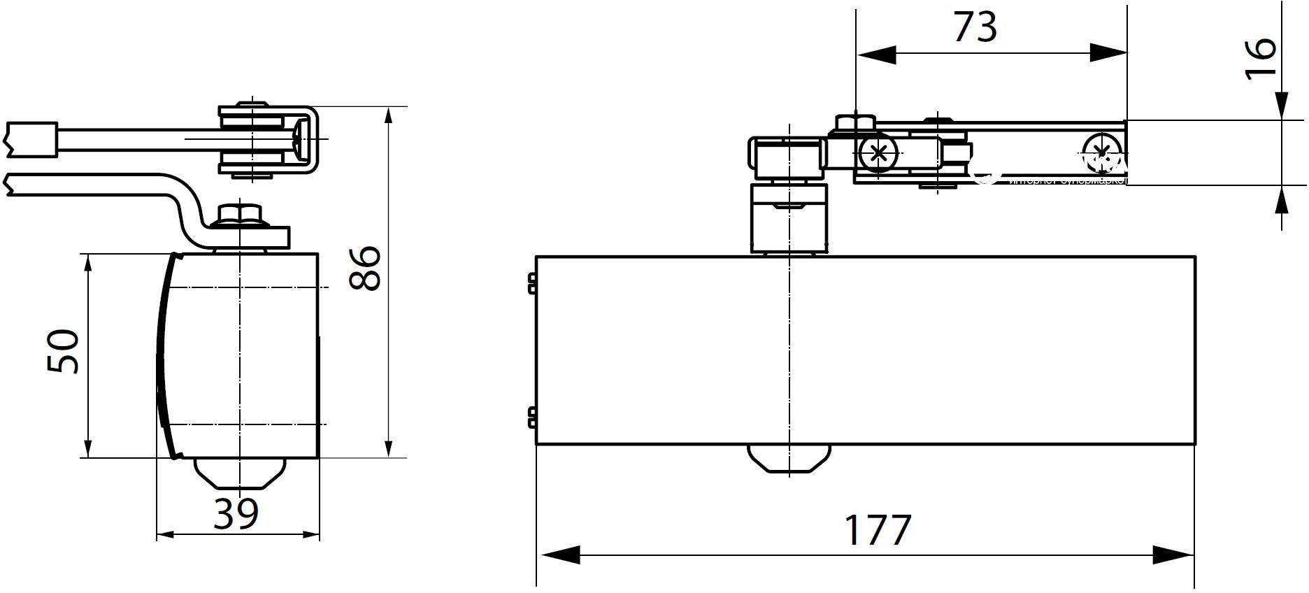 GEZE TS 1500