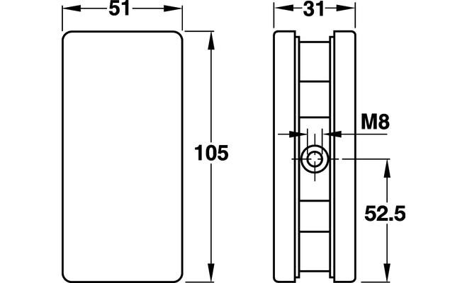 Крепления для стекла, 10-12 мм HAFELE