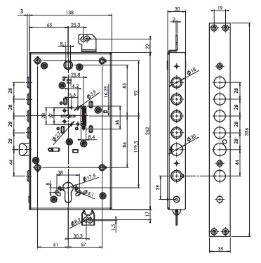 matrix DFMA0328M